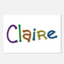 Claire Play Clay Postcards 8 Pack