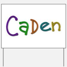 Caden Play Clay Yard Sign