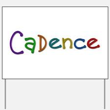 Cadence Play Clay Yard Sign