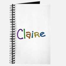 Claire Play Clay Journal