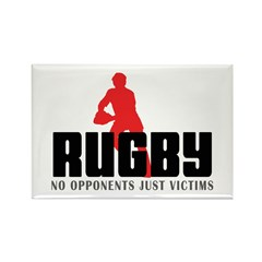 Rugby Rectangle Magnet (100 pack)