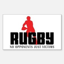 Rugby Rectangle Decal