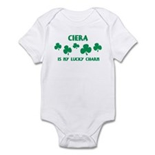 Ciera is my lucky charm Infant Bodysuit