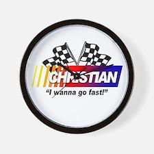 Racing - Christian Wall Clock