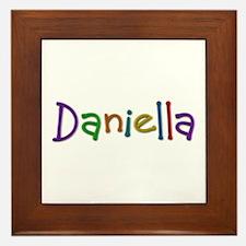 Daniella Play Clay Framed Tile