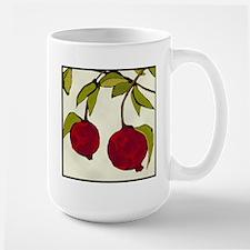 pomegranates Large Mug