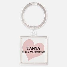 TANYA Square Keychain
