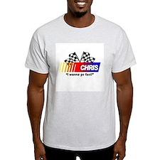Racing - Chris Ash Grey T-Shirt