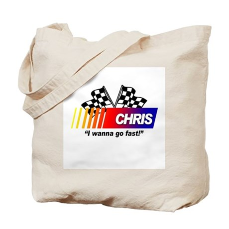 Racing - Chris Tote Bag