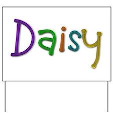 Daisy Play Clay Yard Sign
