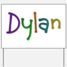 Dylan Play Clay Yard Sign