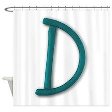 D Play Clay Shower Curtain