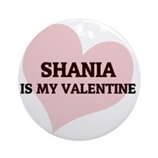 SHANIA Round Ornament