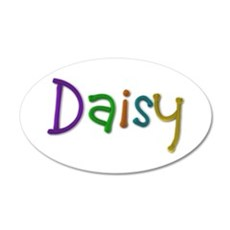 Daisy Play Clay Wall Decal