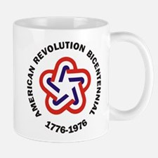 American Revolution Bicentennial Military Mug
