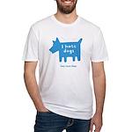 fleabitten dog Fitted T-Shirt