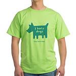 fleabitten dog Green T-Shirt