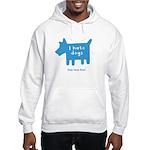 fleabitten dog Hooded Sweatshirt
