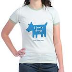 fleabitten dog Jr. Ringer T-Shirt