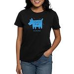 fleabitten dog Women's Dark T-Shirt