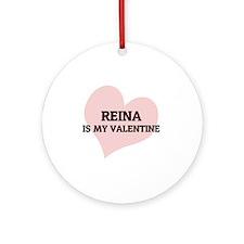 REINA Round Ornament