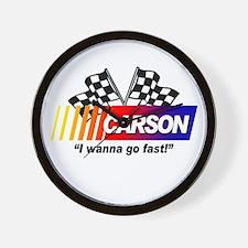 Racing - Carson Wall Clock