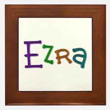 Ezra Play Clay Framed Tile