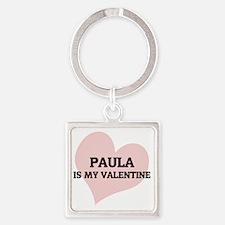PAULA Square Keychain