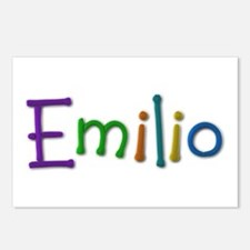 Emilio Play Clay Postcards 8 Pack