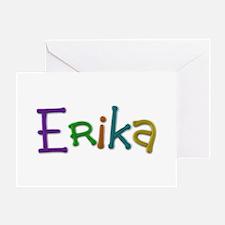 Erika Play Clay Greeting Card