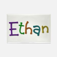 Ethan Play Clay Rectangle Magnet 10 Pack