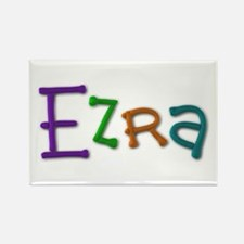 Ezra Play Clay Rectangle Magnet 10 Pack