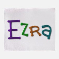 Ezra Play Clay Throw Blanket