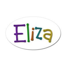 Eliza Play Clay Wall Decal