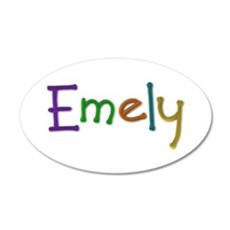 Emely Play Clay Wall Decal