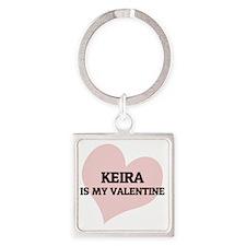 KEIRA Square Keychain
