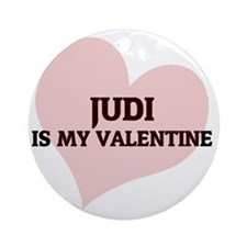 JUDI Round Ornament