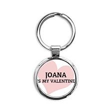 JOANA Round Keychain