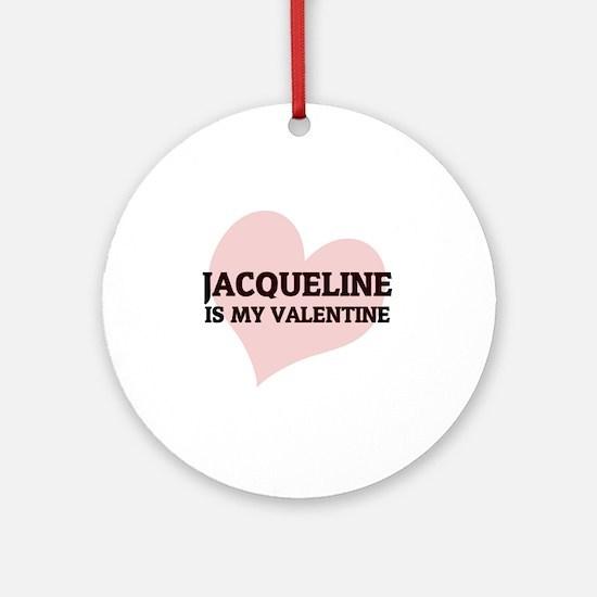 JACQUELINE Round Ornament
