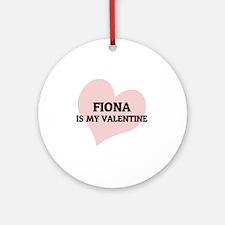 FIONA Round Ornament