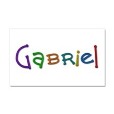 Gabriel Play Clay 20x12 Car Magnet