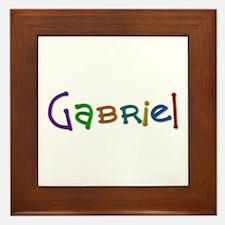 Gabriel Play Clay Framed Tile