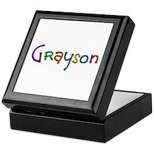 Grayson Play Clay Keepsake Box