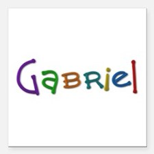 Gabriel Play Clay Square Car Magnet