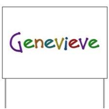 Genevieve Play Clay Yard Sign