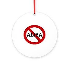 ALIYA Round Ornament