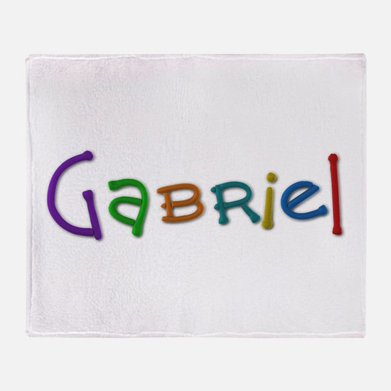Gabriel Play Clay Throw Blanket