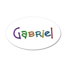 Gabriel Play Clay Wall Decal