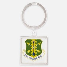 119th FW Square Keychain