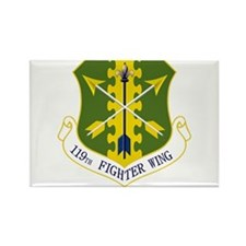 119th FW Rectangle Magnet